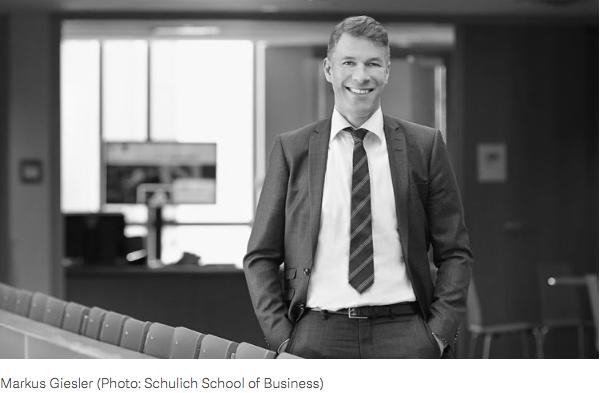 Markus Giesler (Photo: Schulich School of Business)