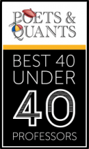 Markus Giesler 40 under 40 Poets & Quants